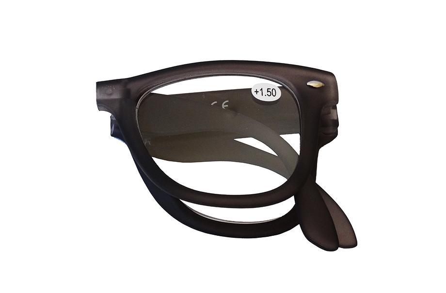 Gafas plegables de lectura negra