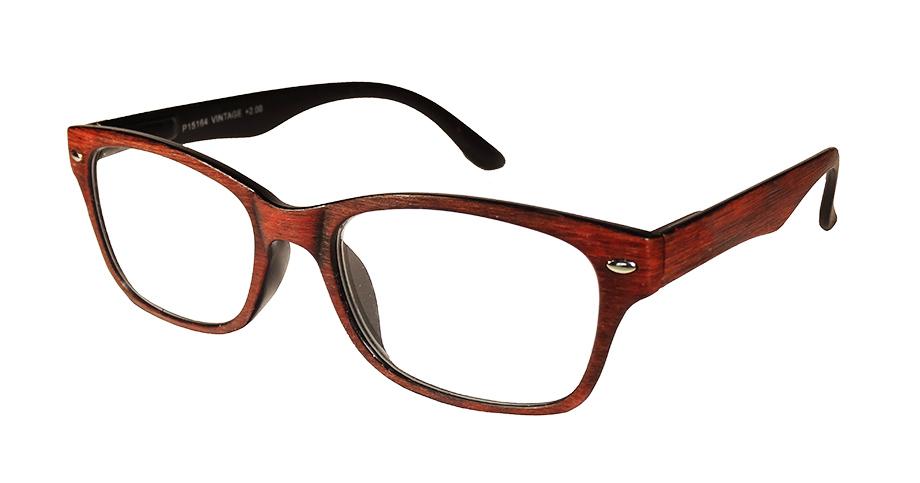 Gafas de ELctura Modelo Vintage Roja