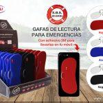 Gafas de lectura para emergencias