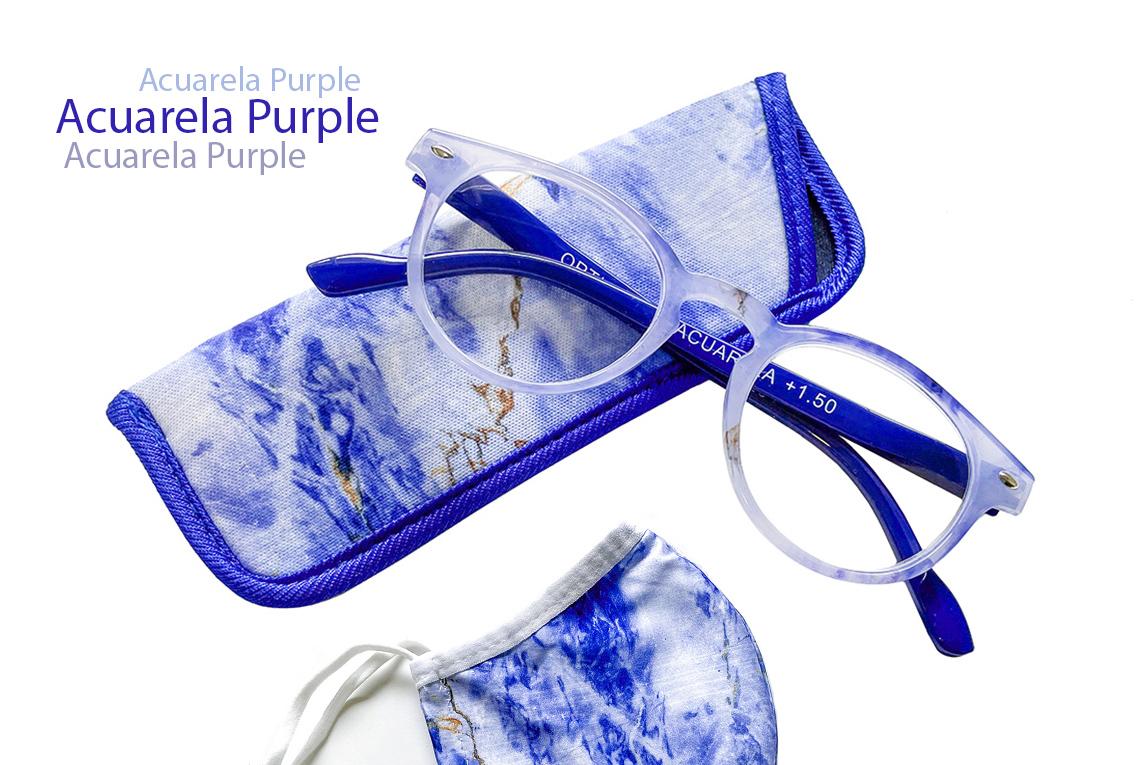 Gafas graduadas online Acuarela Purple+