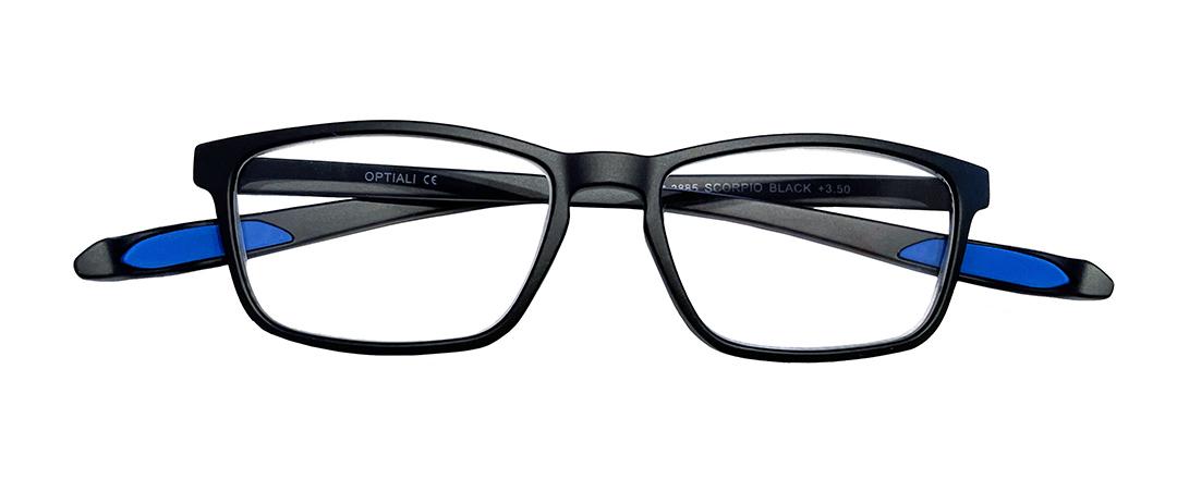 Gafas de lectura Modelo Scorpion black